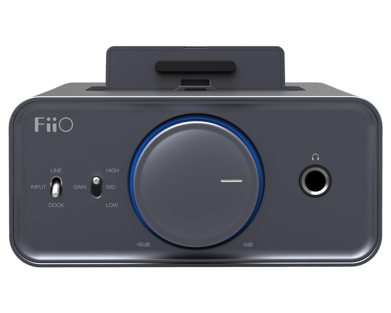 Підсилювач для навушників FiiO K5 Titanium фото