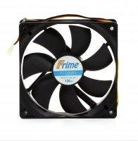 Корпусний вентилятор Frime 120*120*25 3pin Black (FF120SB3)