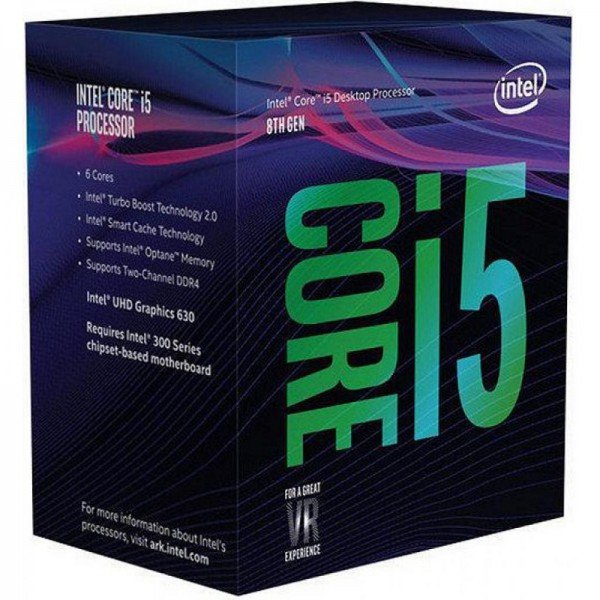 Купить Процессоры, Процессор Intel Core i5-8400 2.8GHz/8GT/s/9MB (BX80684I58400) s1151 BOX
