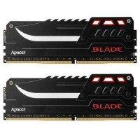 Пам'ять для ПК APACER DDR4 2800 32GB (2x16GB) BLADE Series (EK.32GAW.GFBK2)