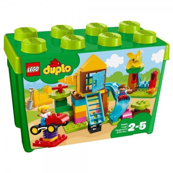 Купить Конструктор LEGO Duplo Коробка с кубиками Большая игровая площадка (10864)