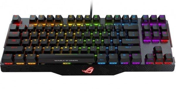 Купить Игровая клавиатура ASUS ROG Claymore CORE USB MX Cherry Eng Red (90MP00I0-B0EA00)