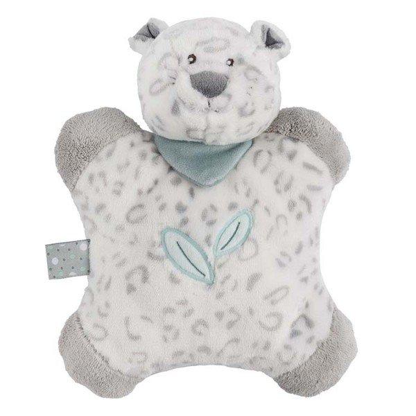Мягкая игрушка-подушка Nattou Леопард Лея (963114)