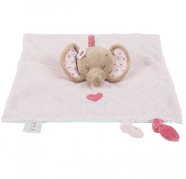 Мягкая игрушка Nattou кукла слоник Рози (655125)
