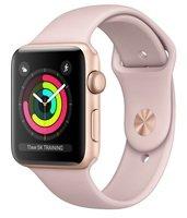 Смарт-часы Apple Watch Series 3 GPS 42mm Gold Aluminium Case with Pink Sand Sport Band (MQL22GK/A)