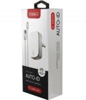 ЗУ сетевое Intaleo TCG242 (2USB2,4A) + Micro USB White
