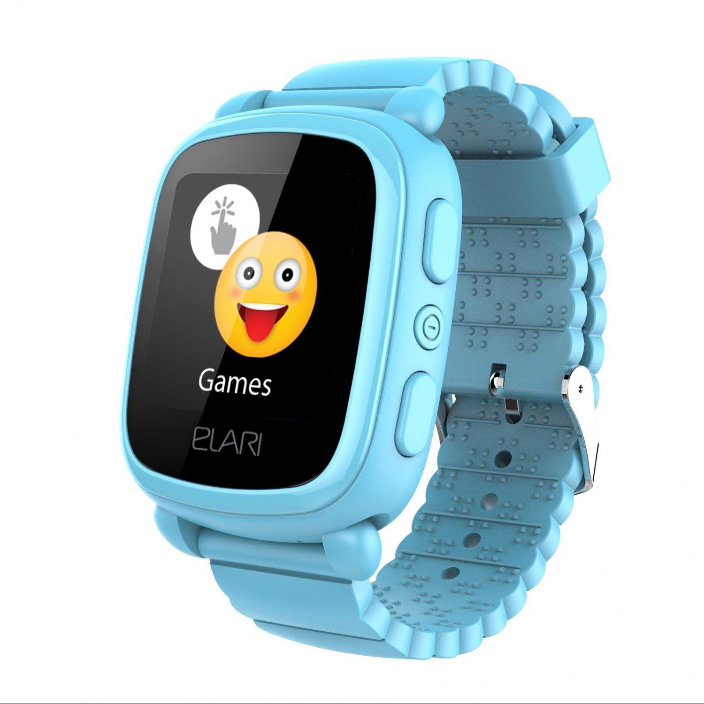 ≡ Детские смарт-часы Elari KidPhone 2 Blue с GPS-трекером (KP-2BL ... cb48b2659d5