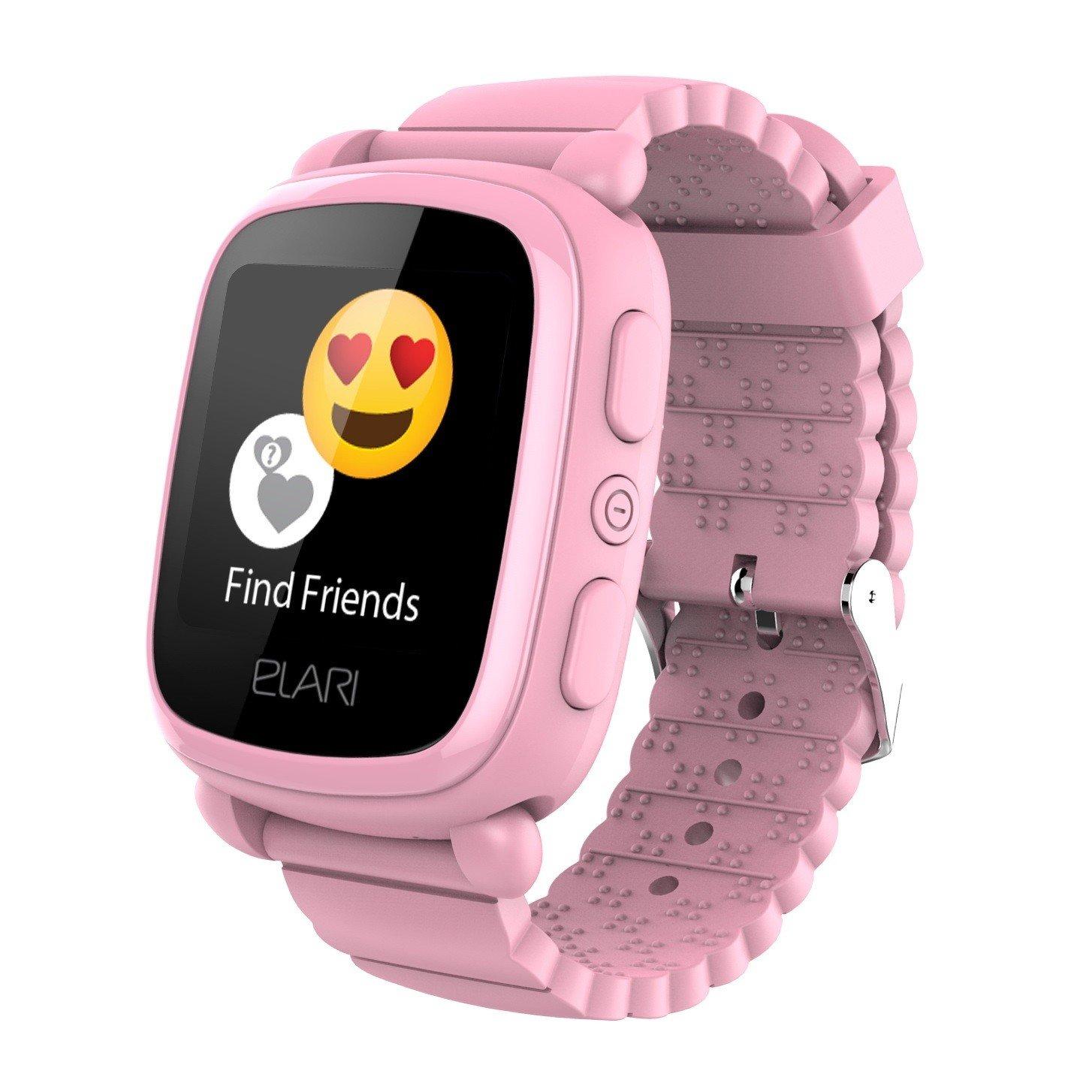 ≡ Детские смарт-часы Elari KidPhone 2 Pink с GPS-трекером (KP-2P ... 3101f632a4f4b