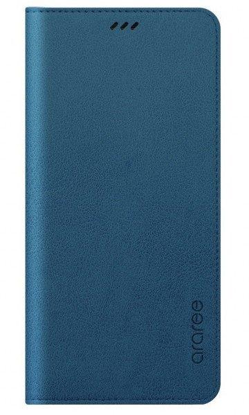Акция на Чехол Samsung для Galaxy A8+ 2018 (A730) Flip Wallet Ash blue от MOYO
