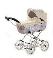 Классическая коляска EICHHORN SENATOR White натуральная кожа (4251056314641)