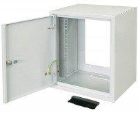 "Шкаф ZPAS 10"" 7U, глубина 260мм. метал.дверь WZ-3661-01-01-011"