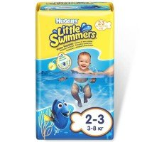 Підгузки-трусики для купання Huggies LITTLE SWIMMER 3-8 12 шт (5029053537795)