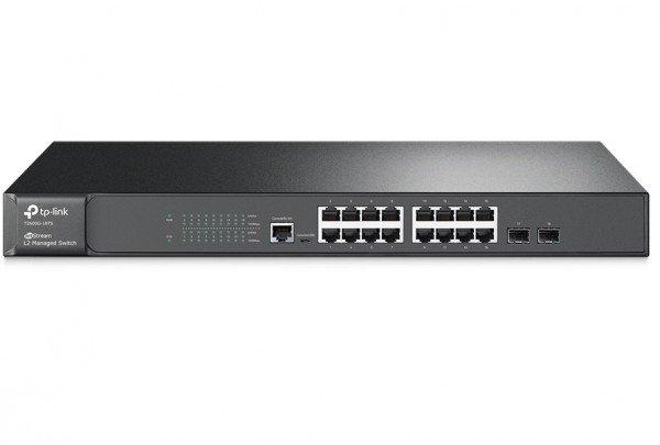 Коммутаторы управляемые, КоммутаторTP-LINKTL-SG3216 (T2600G-18TS)  - купить со скидкой