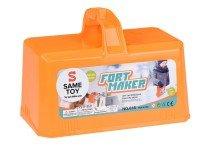 Игровой набор Same Toy 2 в 1 для лепки из снега и песка оранжевый (618Ut-2)