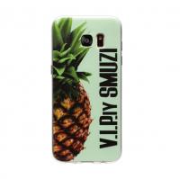 Чехол Utty для Galaxy S7 G935 B&Z Ultra Thin Ананас