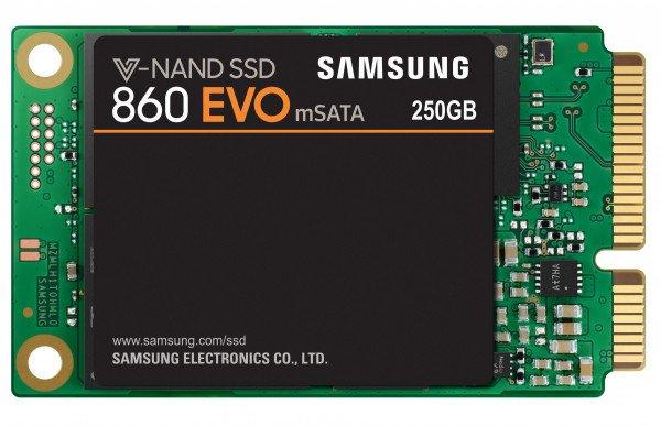 Купить SSD накопитель SAMSUNG 860 EVO 250GB mSATA (MZ-M6E250BW)