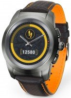 Смарт-часы MyKronoz ZeTime Regular Premium titan-black/carbon-orange