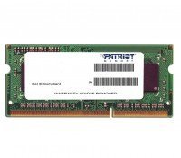 Память для ПК PATRIOT DDR3 1600 2GB (PSD32G1600L2S)