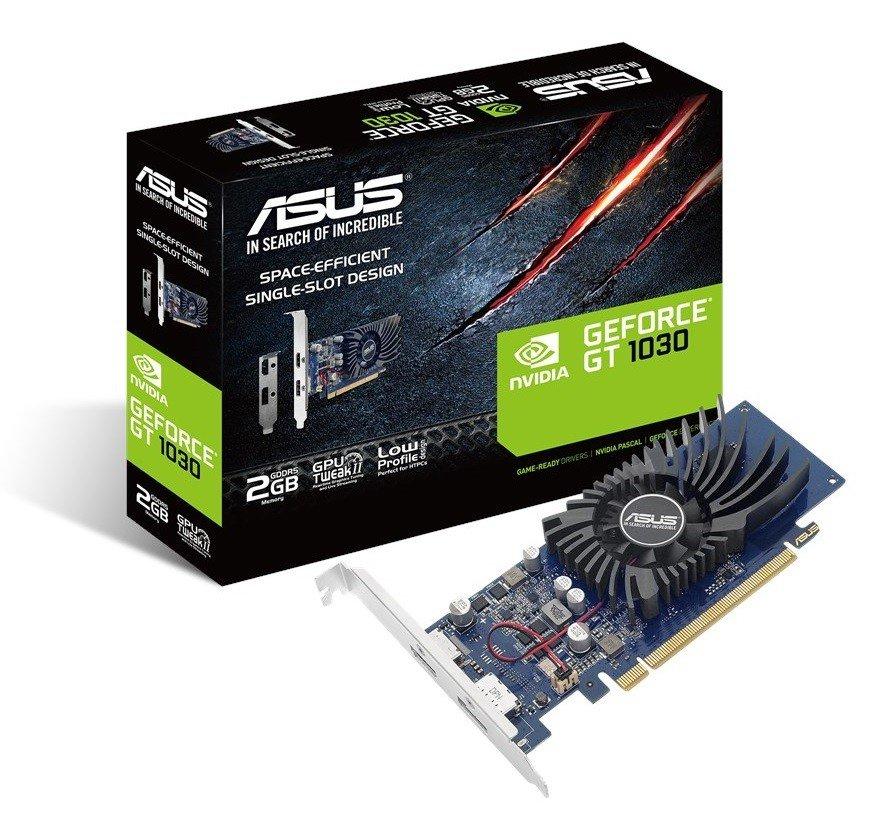Відеокарта ASUS GeForce GT1030 2GB DDR5 (GT1030-2G-BRK) фото1