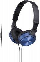 Навушники Sony MDR-ZX310AP mic Blue