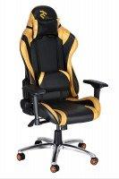 Компьютерное кресло для геймера 2Е GC003 Black/Gold