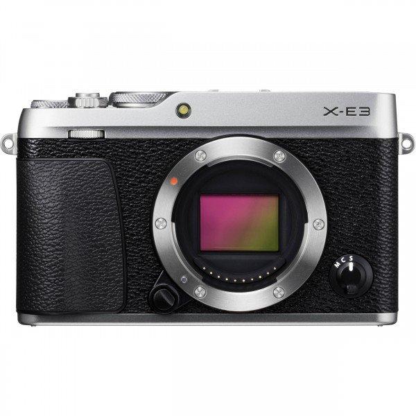 Купить Фотоаппарат FUJIFILM X-E3 Body Silver (16558463)