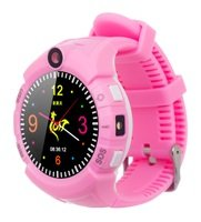 Детские часы ERGO с GPS трекером COLOR C010 Pink