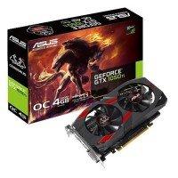 Видеокарта ASUS GeForce GTX1050TI 4GB DDR5 OC CERBERUS (CERBERUS-GTX1050TI-O4G)