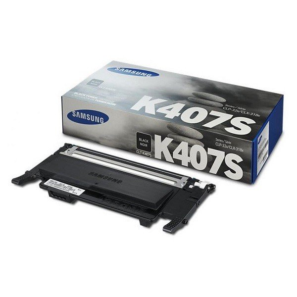Купить Картридж лазерный Samsung CLP-320/320N/325, CLX-3185/3185N/3185FN black(1500стр, CLT-K407S/SEE (SU132A)
