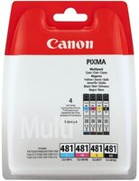 Набор картриджей CANON CLI-481 Cyan/Magenta/Yellow/Black Multi Pack (2101C005)