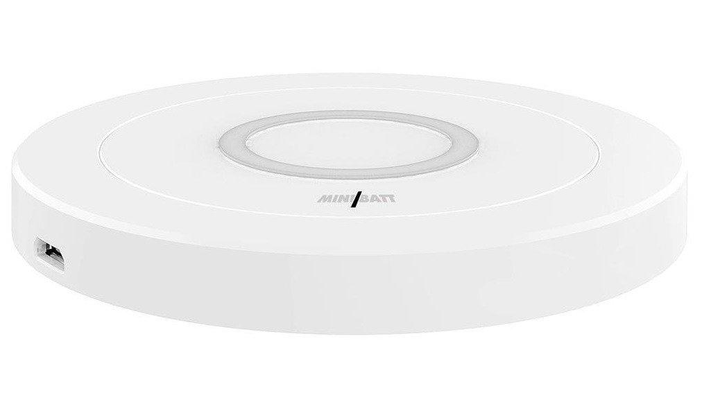 Бездротовий зарядний пристрій Minibatt Wireless Charging Qi DC5V-1.0A/9V1.1A фото1