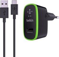 Сетевое зарядное устройство Belkin Home Charger USB + Type-C Cable Black