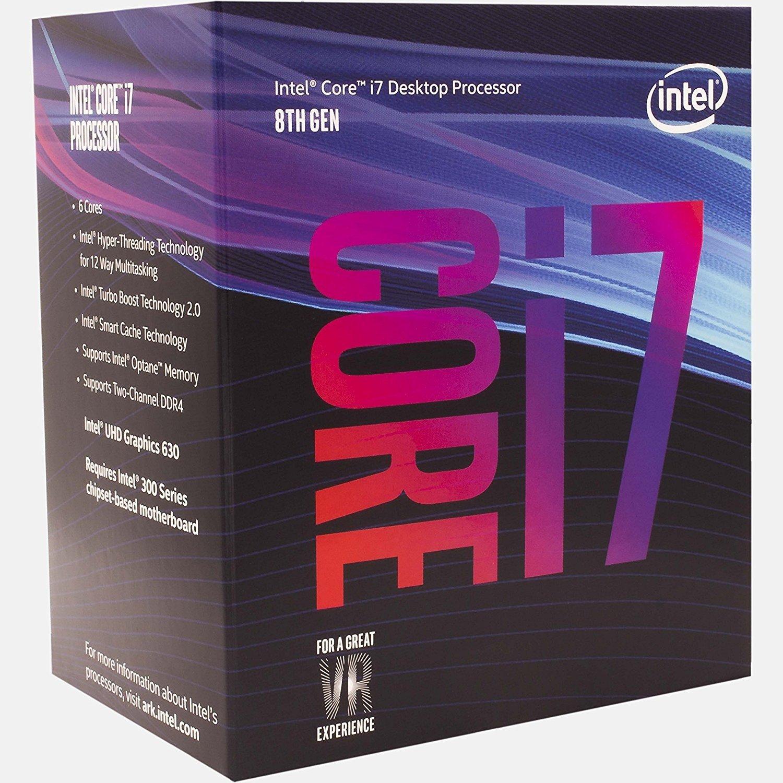 Процесор INTEL Core i7-8700 Box (BX80684I78700) фото1