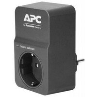 Сетевой фильтр APC Essential SurgeArrest 1 outlet, Black (PM1WB-RS)