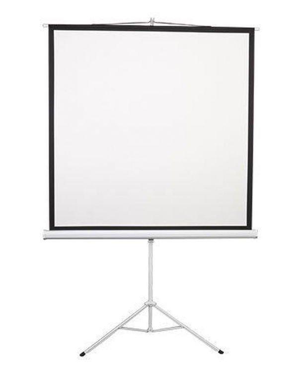 """Екран на тринозі 2E 1: 1, 96"""" (1.72х1.72 м) фото1"""