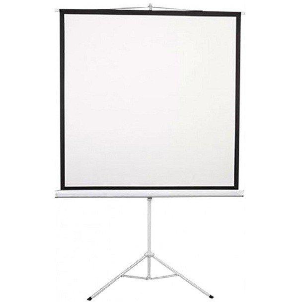 """Екран на тринозі 2E 1: 1, 135"""" (2.4х2.4 м) фото"""
