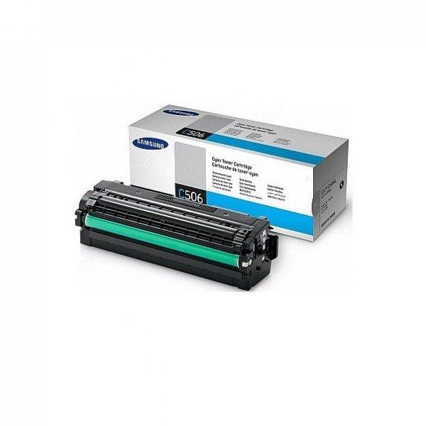Купить Картридж лазерный Samsung CLP-680, CLX-6260 cyan, 3 500стр, CLT-C506L/SEE (SU040A)
