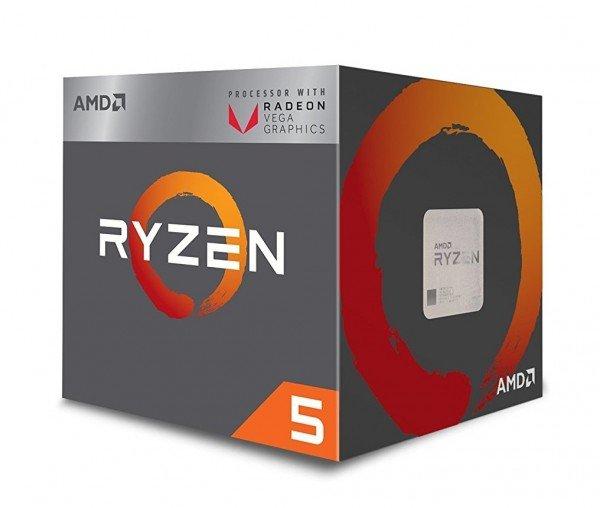 Купить Процессор AMD Ryzen 5 2400G 3.6GHz/4MB (YD2400C5FBBOX)