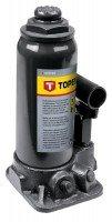 Домкрат гидравлический бутылочный 5т, 215-445мм, TOPEX 97X035