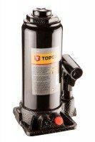 Домкрат гидравлический бутылочный 10т, 230-460мм, TOPEX 97X040