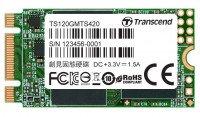 SSD накопитель TRANSCEND MTS420 120GB 2242 M.2 SATA (TS120GMTS420S)