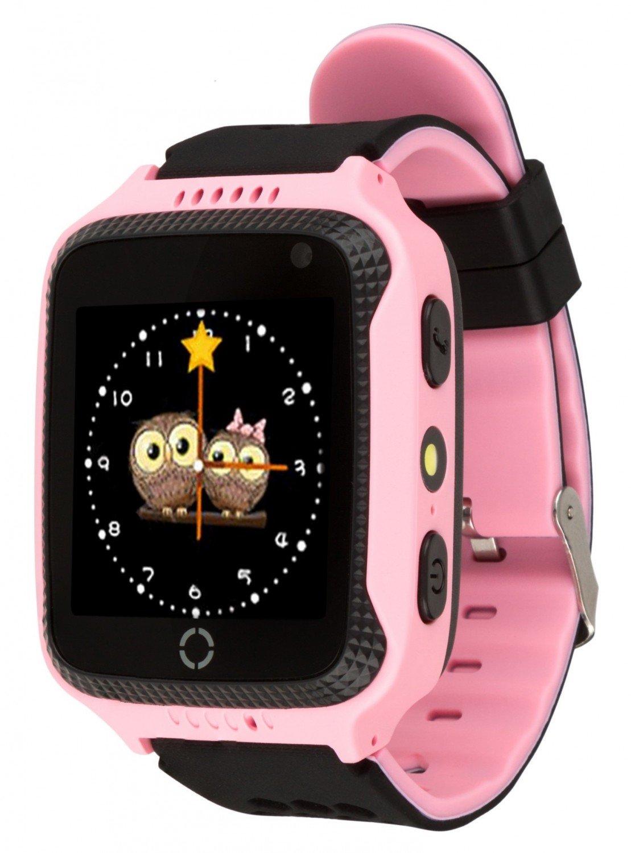 Дитячий смарт-годинник ATRIX Smart Watch iQ600 GPS Pink (322432) фото1 01fbaffd458a3