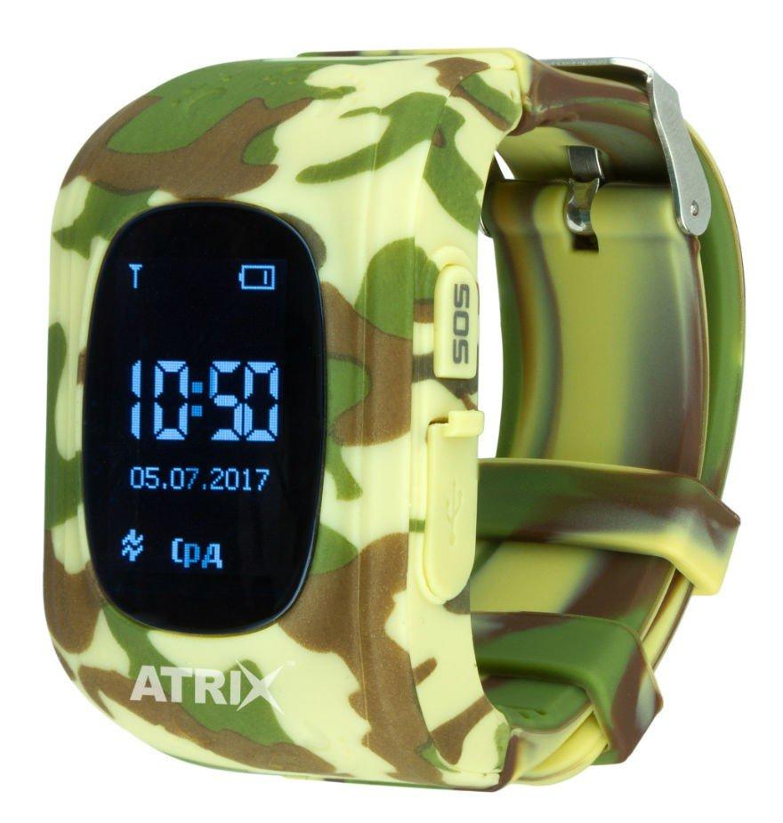 Дитячий смарт-годинник ATRIX Smart Watch iQ300 GPS Camo (324286) фото1 7e59a85ca03bc
