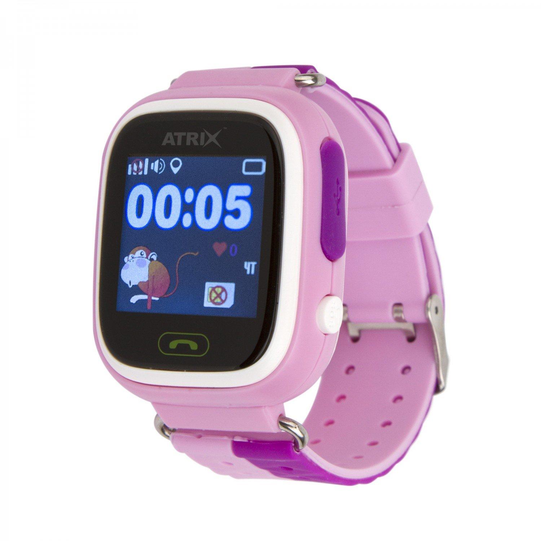 Дитячий смарт-годинник ATRIX Smart Watch iQ400 Touch GPS Pink (286987) фото1 24baa0a287ef2