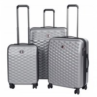 """Комплект чемоданов Wenger Lumen 20"""", 24"""", 28"""" серый (604335)"""