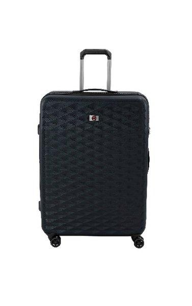 Купить Чемодан пластиковый Wenger Lumen 4 колеса (M) Black