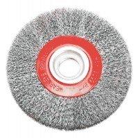 Щетка проволочная дисковая VERTO 62H210, 125мм