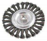Щетка проволочная дисковая VERTO 62H141, 150мм