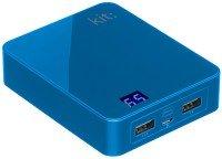 Портативный аккумулятор Kit Premium 12000mAh Blue