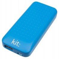 Портативный аккумулятор Kit Essentials Range 4000mAh Blue